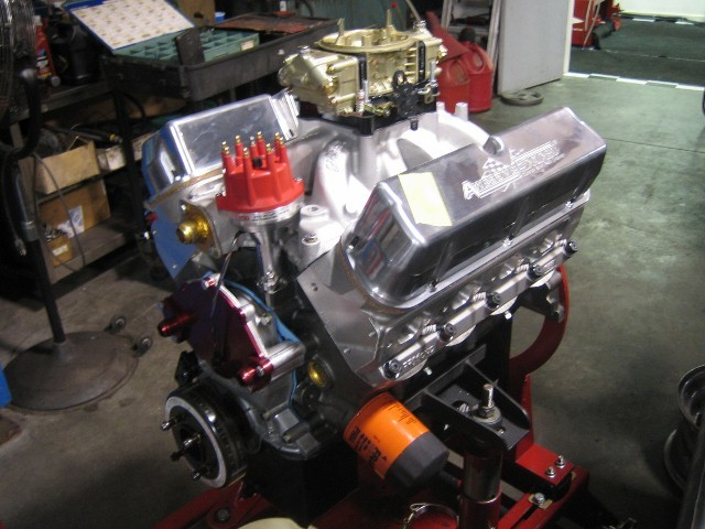 Sbf X on Small Block Chevy Crate Engines